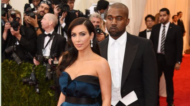 """PHOTO: Kim Kardashian, left, and Kanye West attend the """"Charles James: Beyond Fashion"""" Costume Institute Gala at the Metropolitan Museum of Art on May 5, 2014 in New York City."""