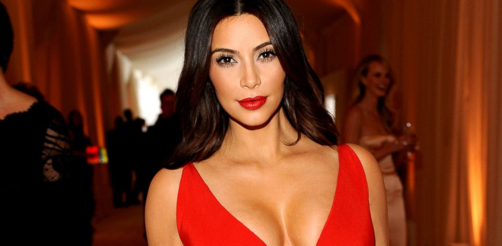 PHOTO: Kim Kardashian attends the 22nd Annual Elton John AIDS Foundation Academy Awards viewing party with Chopard at the City of West Hollywood Park, March 2, 2014, in West Hollywood, Calif.