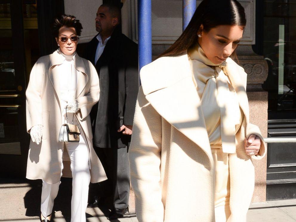 PHOTO: Kris Jenner and Kim Kardashian are seen in Soho, Feb. 24, 2014, in New York City.