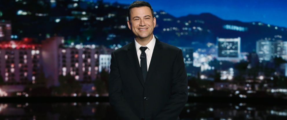 """PHOTO: Jimmy Kimmel is pictured in a still from """"Jimmy Kimmel Live!"""""""