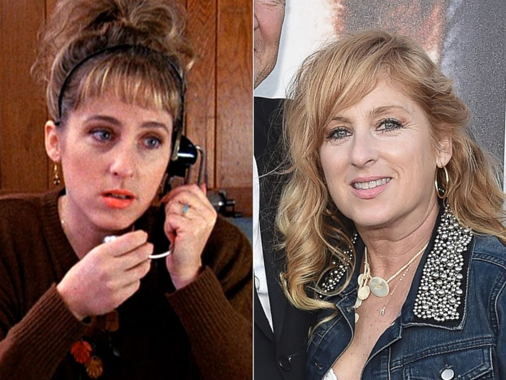 PHOTO: Kimmy Robertson as Lucy Moran in Twin Peaks, 1990.   Kimmy Robertson in Los Angeles, Calif., July 16, 2014.