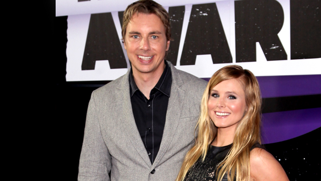 PHOTO: Dax Shepard and Kristen Bell attend the 2013 CMT Music awards at the Bridgestone Arena in Nashville, Tenn., June 5, 2013.