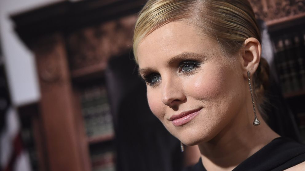 Kristen Bell arrives at the premiere of 'The Judge' at AMPAS Samuel Goldwyn Theater, Oct. 1, 2014 in Beverly Hills, Calif.