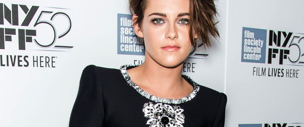 "PHOTO: Kristen Stewart attends the ""Clouds Of Sils Maria"", ""Merchants Of Doubt"" & ""Silvered Water"" screenings during the 52nd New York Film Festival at Alice Tully Hall, Oct. 8, 2014 in New York."