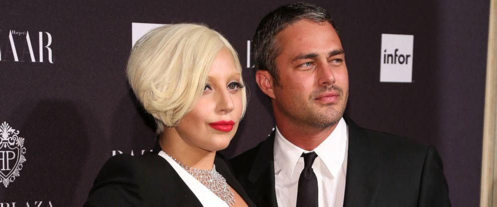 PHOTO: Lady Gaga and Taylor Kinney attend Harpers Bazaar ICONS Celebration at The Plaza Hotel, Sept. 5, 2014 in New York.