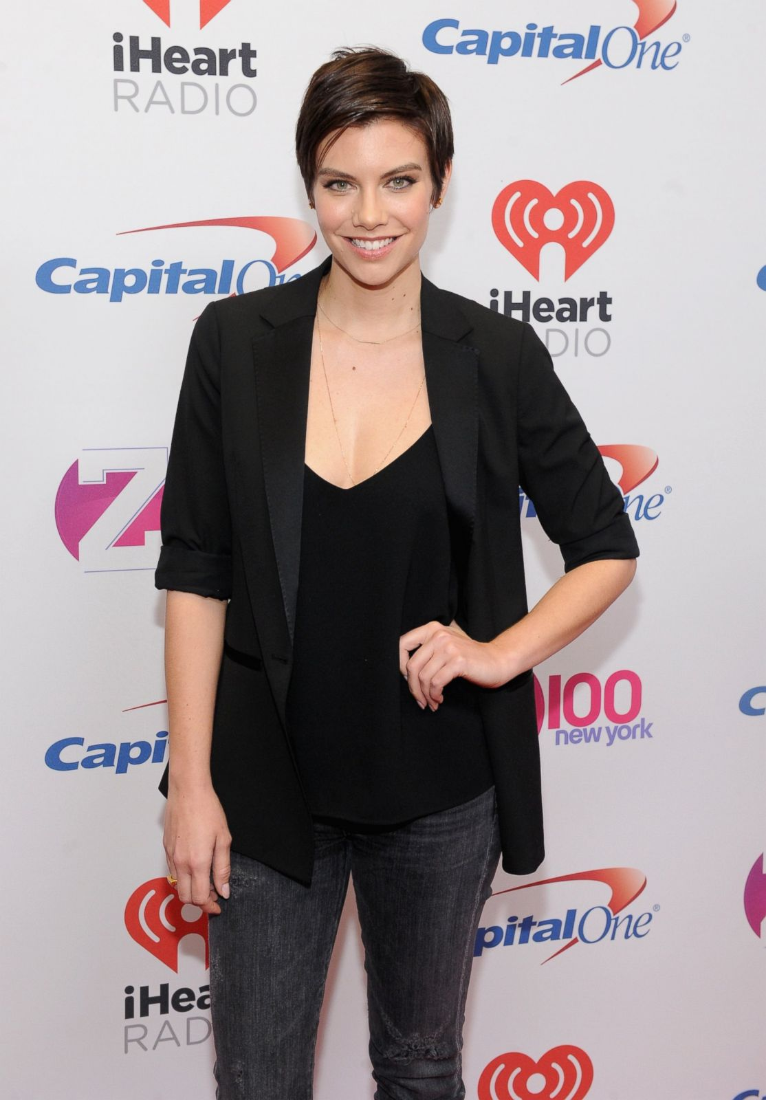 Lauren Cohan Reveals New Cut Picture Celebrity Hairdos