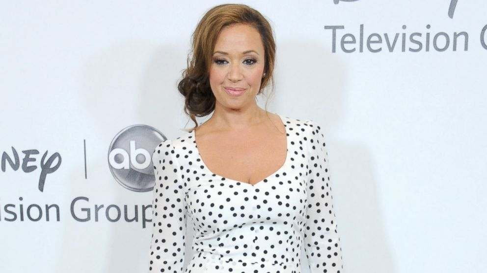 Leah Remini arrives at the 2012 Disney ABC Television TCA summer press tour party at The Beverly Hilton Hotel, July 27, 2012, in Beverly Hills, Calif.
