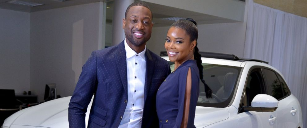 PHOTO: Dwyane Wade and Gabrielle Union in Miami, June 15, 2016.