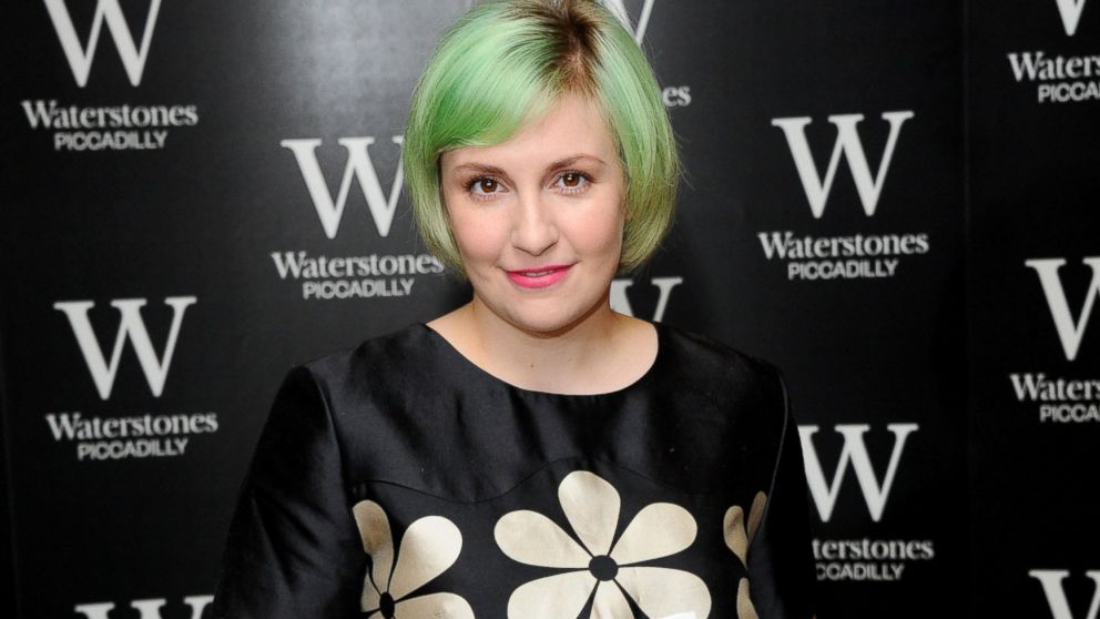 """Lena Dunham meets fans and signs copies of her book, """"Not That Kind of Girl,"""" at Waterstones, Piccadilly, Oct. 29, 2014, in London."""