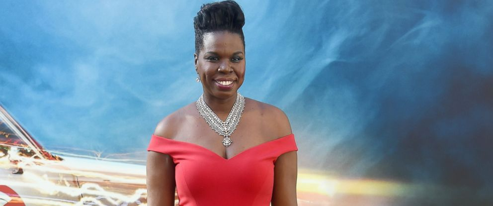 "PHOTO: Actress/comedian Leslie Jones arrives at the premiere of Sony Pictures ""Ghostbusters"" at TCL Chinese Theatre, July 9, 2016, in Hollywood, California."