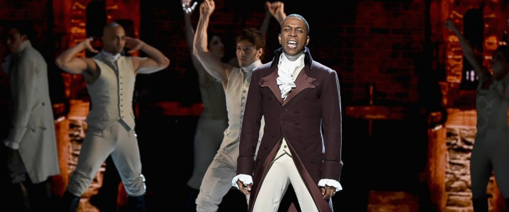 PHOTO: Leslie Odom Jr. performs onstage during the 70th Annual Tony Awards at The Beacon Theatre, June 12, 2016 in New York.