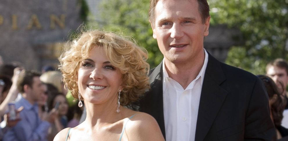 PHOTO: Liam Neeson and his wife Wife Natasha Richardson arrive at the Uk Premiere Of The Chronicles Of Narnia in this June 19, 2008, file photo.