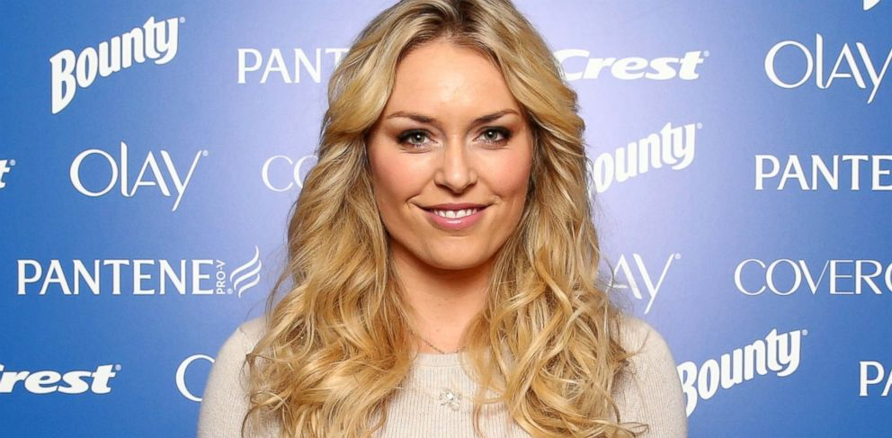 PHOTO: Lindsey Vonn joins P&G to kick-off The 2014 Sochi Olympic Winter Games Thank You, Mom campaign, Oct. 28, 2013, in New York City.