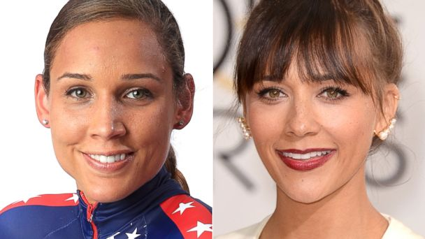 PHOTO: Lolo Jones and Rashida Jones.