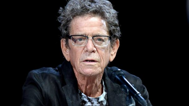Lou Reed attends the Grey Group Seminar during the Cannes Lions International Festival of Creativity at Palais des Festivals in Cannes, France, June, 20, 2013.