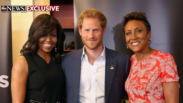 First Lady Michelle Obama and Prince Harry 'Joining Forces' for Invictus Games