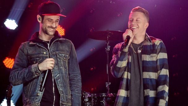 PHOTO: Ryan Lewis and Macklemore LIVE On The Honda Stage at the iHeartRadio Theater, Feb. 24, 2016, in Burbank, Calif.