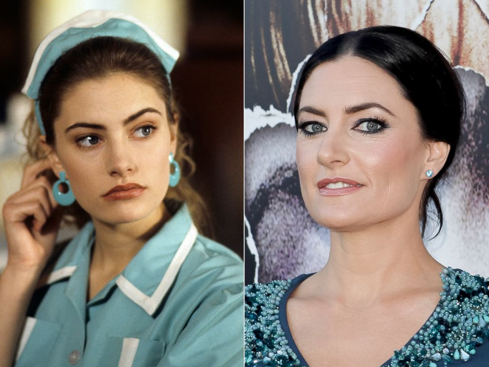 PHOTO: Madchen Amick in a scene from Twin Peaks, 1990.   Madchen Amick in Los Angeles, Calif., July 16, 2014.