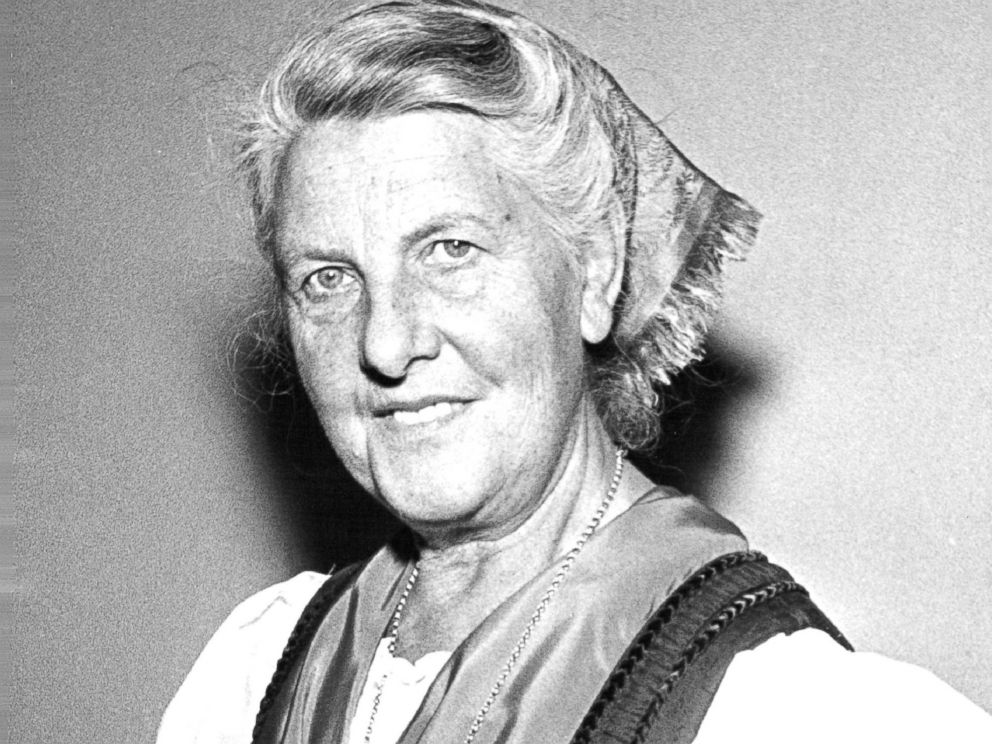 PHOTO: Baroness Maria Von Trapp, April 15, 1964.