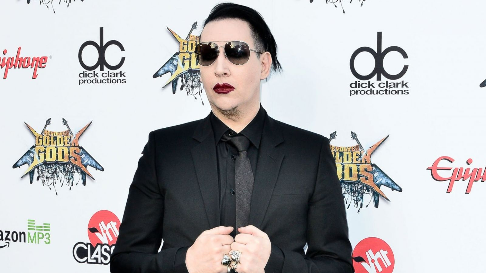 Marilyn Manson Mourns His Mother S Death Abc News
