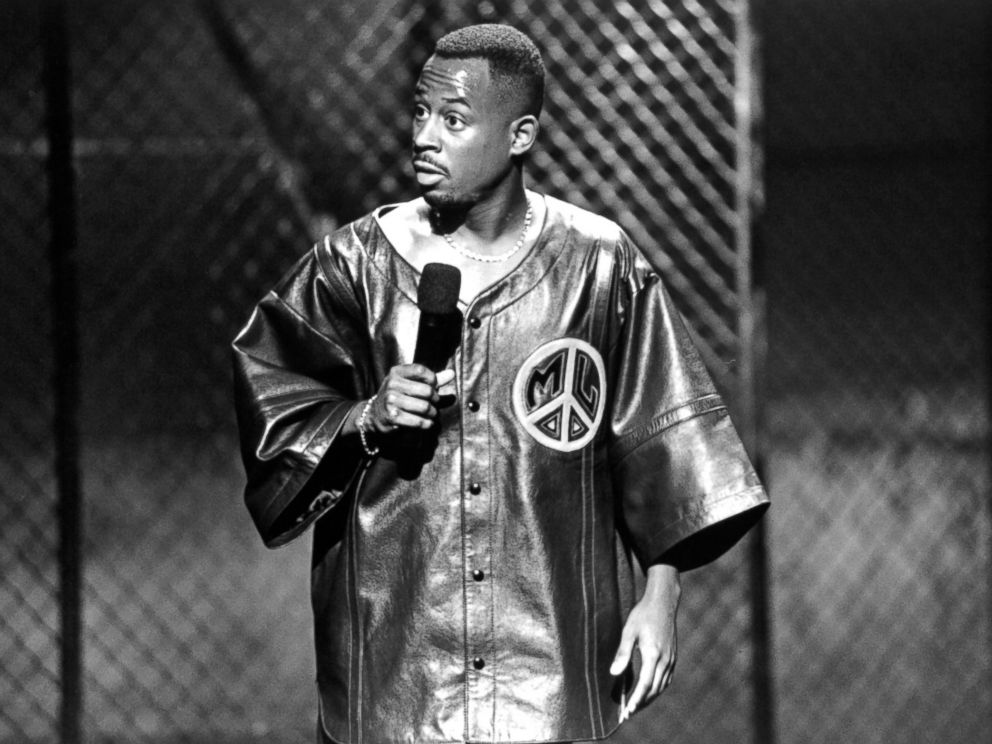 PHOTO: Comedian Martin Lawrence is pictured on set of the Documentary You So Crazy, circa 1994.