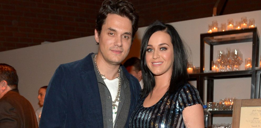 PHOTO: In this file photo, John Mayer, left, and Katy Perry, right, are pictured on Jan. 28, 2014 in Culver City, Calif.
