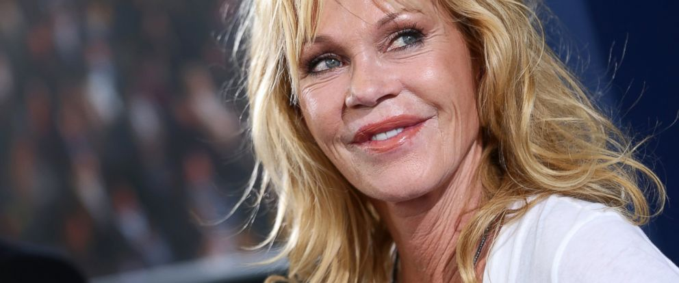 PHOTO: Melanie Griffith attends a press conference during the 67th Locarno Film Festival, Aug. 7, 2014, in Locarno, Switzerland.