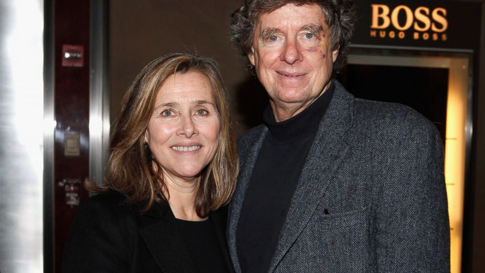 Meredith Vieira and her husband Richard Cohen attend the Andy Rooney Memorial at Jazz at Lincoln Center in New York, Jan. 12, 2012.