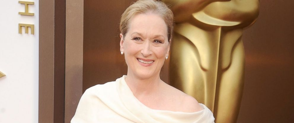 PHOTO: Actress Meryl Streep arrives at the 86th Annual Academy Awards at Hollywood & Highland Center, March 2, 2014 in Hollywood, Calif.