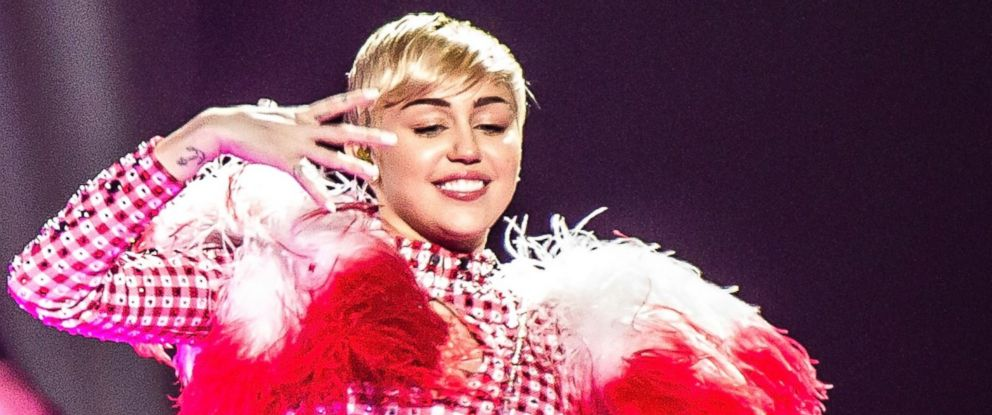 PHOTO: Miley Cyrus performs at Jerome Schottenstein Center, April 13, 2014 in Columbus, Ohio.
