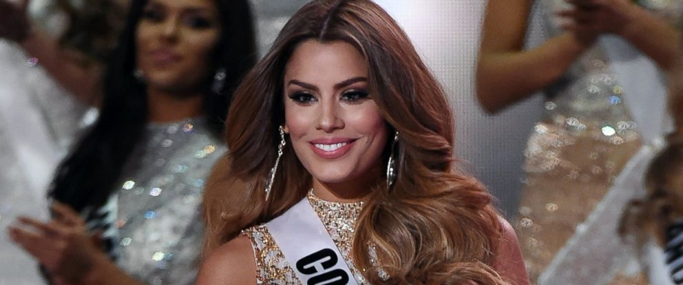 PHOTO: Miss Colombia 2015, Ariadna Gutierrez is seen here at The Axis at Planet Hollywood Resort & Casino, Dec. 20, 2015, in Las Vegas.