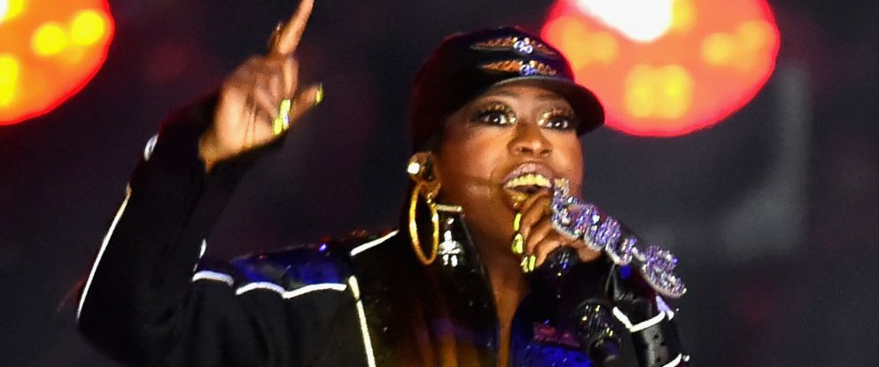 PHOTO: Recording artist Missy Elliott performs onstage during the Pepsi Super Bowl XLIX Halftime Show at University of Phoenix Stadium, Feb. 1, 2015, in Glendale, Ariz.