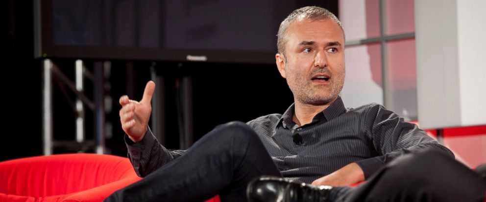 PHOTO: Nick Denton, founder of Gawker Media, speaks during the Interactive Advertising Bureau MIXX 2010 conference and expo in New York, Sept. 27, 2010.