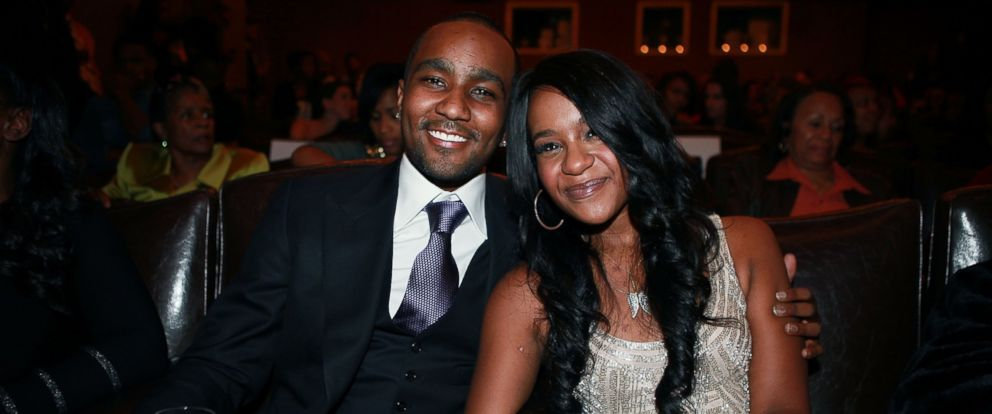 "PHOTO: Nick Gordon and Bobbi Kristina Brown attend ""The Houstons: On Our Own"" series premiere party at the Tribeca Grand Hotel on Oct. 22, 2012 in New York City."