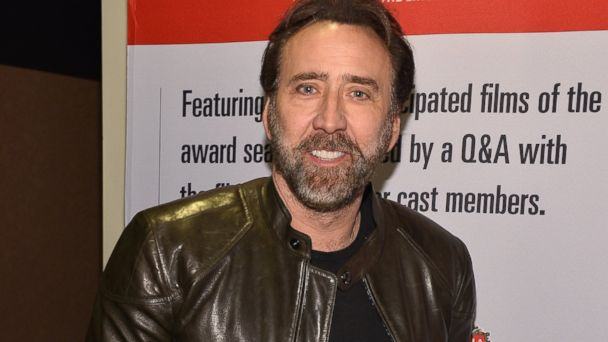 """PHOTO: Nicolas Cage attends the 2013 Variety Screening Series of """"The Croods"""" in Hollywood, Calif."""