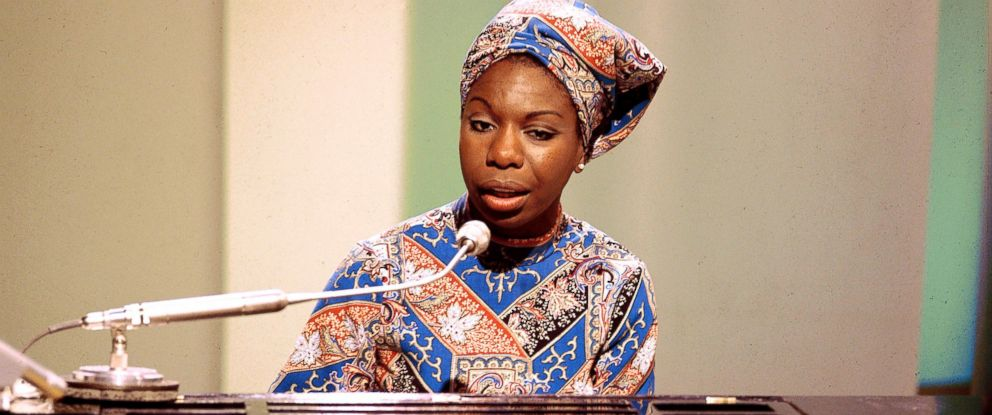 PHOTO: Nina Simone performs, circa 1966.