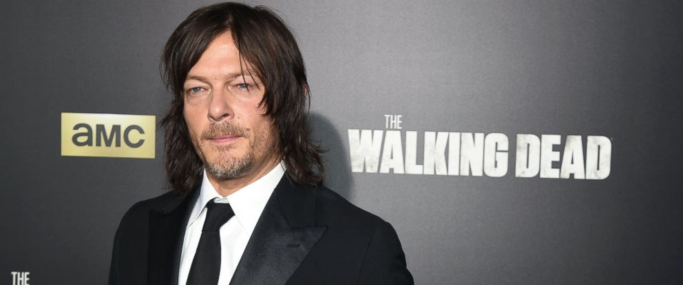 """PHOTO: Norman Reedus attends AMCs """"The Walking Dead"""" Season 6 fan premiere event at Madison Square Garden, Oct. 9, 2015, in New York."""