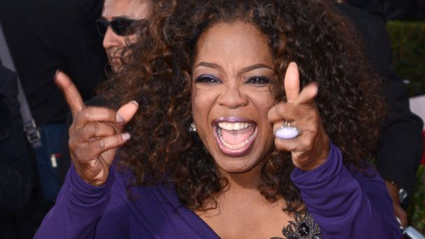 PHOTO: Oprah Winfrey arrives at the 20th Annual Screen Actors Guild Awards on Jan. 18, 2014 in Los Angeles, Calif.