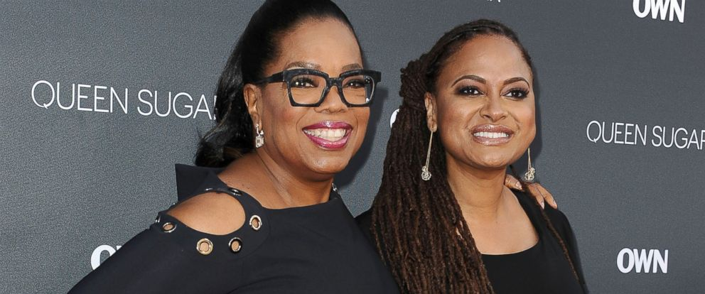 "PHOTO: Oprah Winfrey and Ava DuVernay attend the premiere of ""Queen Sugar"" at Warner Bros. Studios, Aug. 29, 2016, in Burbank, California."