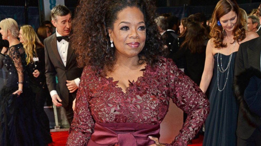 How Oprah Got Into Her Skin-Tight BAFTA Gown - ABC News