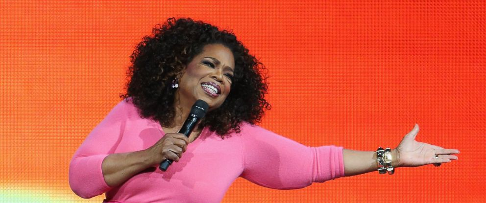 PHOTO: Oprah Winfrey is seen on stage during her An Evening With Oprah tour at Allphones Arena, Dec. 12, 2015, in Sydney.