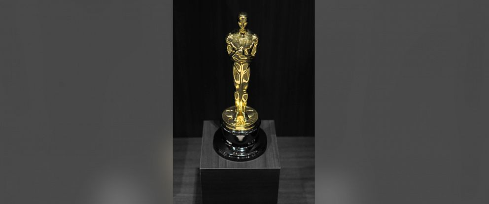 PHOTO: The Oscar Statuette is on display during the grand opening of National Museum Of American Historys Innovation Wing at the National Museum Of American History on July 1, 2015 in Washington.