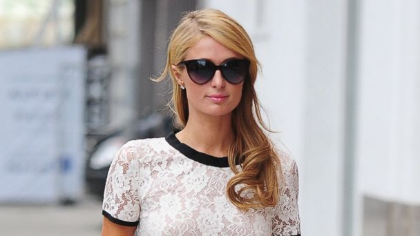 PHOTO: Paris Hilton is seen in the Meatpacking District, January 13, 2014 in New York City.