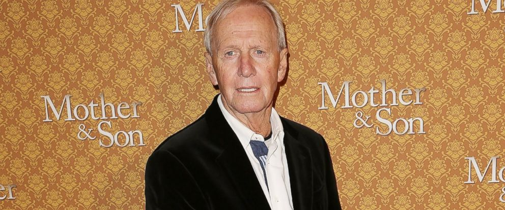 """PHOTO: Paul Hogan arrives at the opening night of """"Mother & Son"""" at the Comedy Theatre, July 24, 2014, in Melbourne, Australia."""