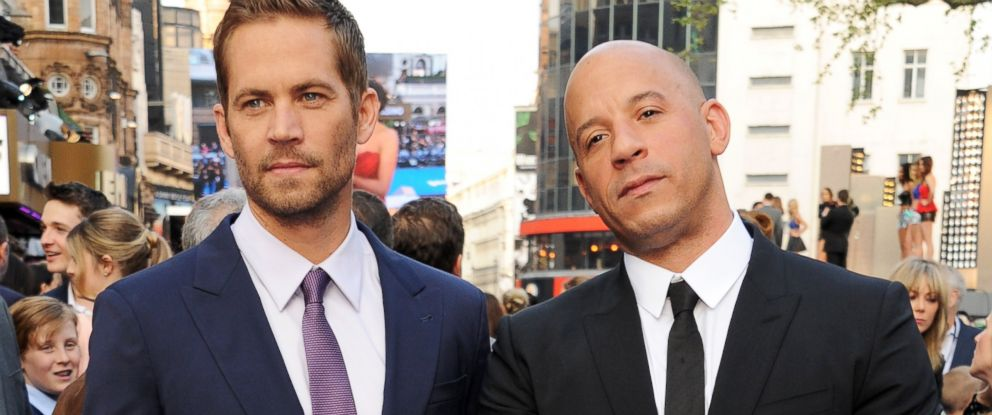 PHOTO: From left, Paul Walker and Vin Diesel attend the World Premiere of Fast & Furious 6