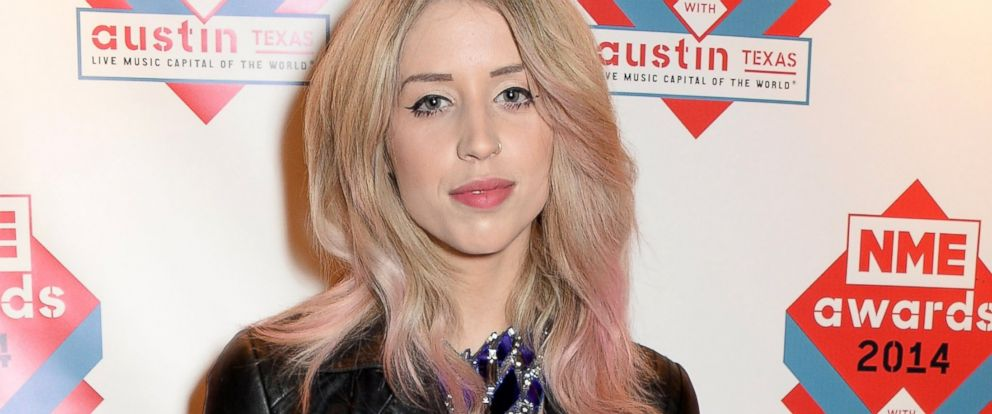 PHOTO: Peaches Geldof attends the annual NME Awards at Brixton Academy, Feb. 26, 2014, in London.