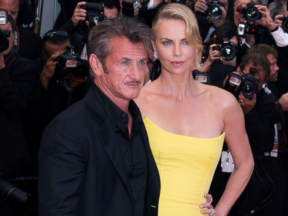PHOTO: Sean Penn and Charlize Theron attend the Mad Max : Fury Road Premiere during the 68th annual Cannes Film Festival, May 14, 2015, in Cannes, France.