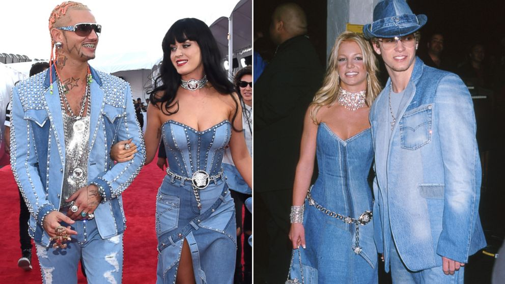 Britney Spears Reacts To Katy Perry S Throwback Vma Outfit Abc News