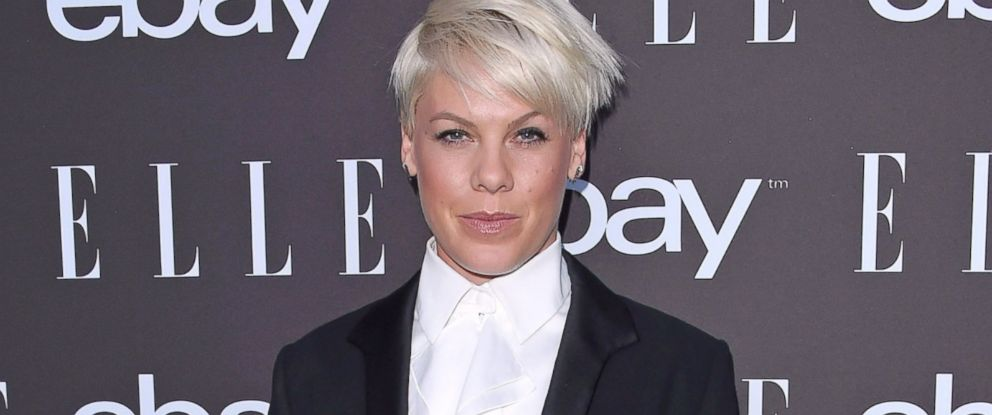 PHOTO: Pink arrives at the 6th Annual ELLE Women In Music Celebration Presented by eBay at Boulevard3, May 20, 2015, in Hollywood, Calif.