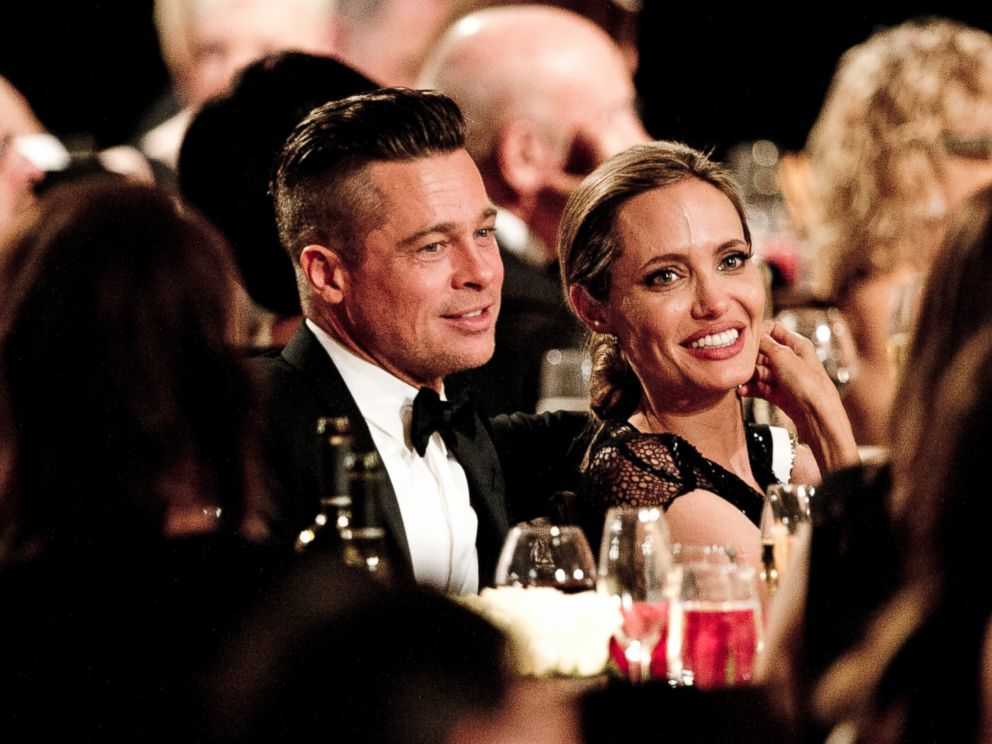 PHOTO: Brad Pitt and Angelina Jolie attend the 2013 Governors Awards at the Hollywood and Highland Center in Hollywood, California, Nov. 16, 2013.